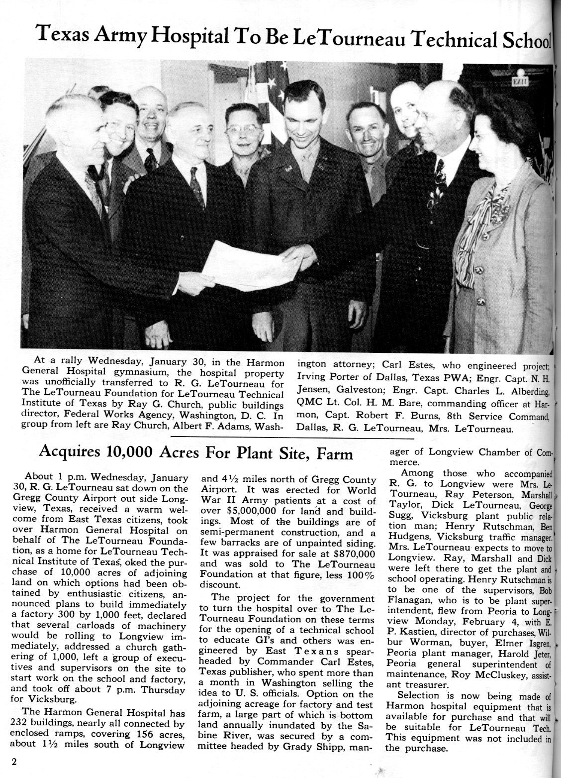 NOW February 1946