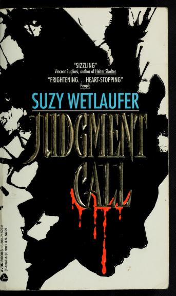 Judgement Call by Suzy Wetlaufer